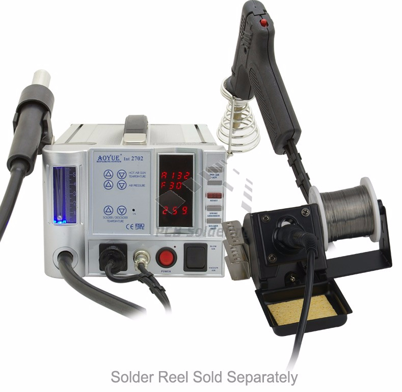 Aoyue 2702a Hot Air Rework Soldering Iron Station