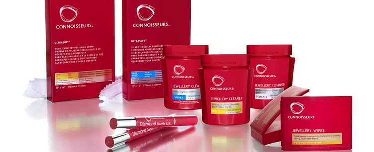 image Best Ultrasonic Cleaners revolving main header image showing the Connoisseurs range of jewellery cleaning products