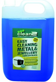 JPL Sea Clean Ultrasonic organic jewellery cleaning fluid (5 litre)