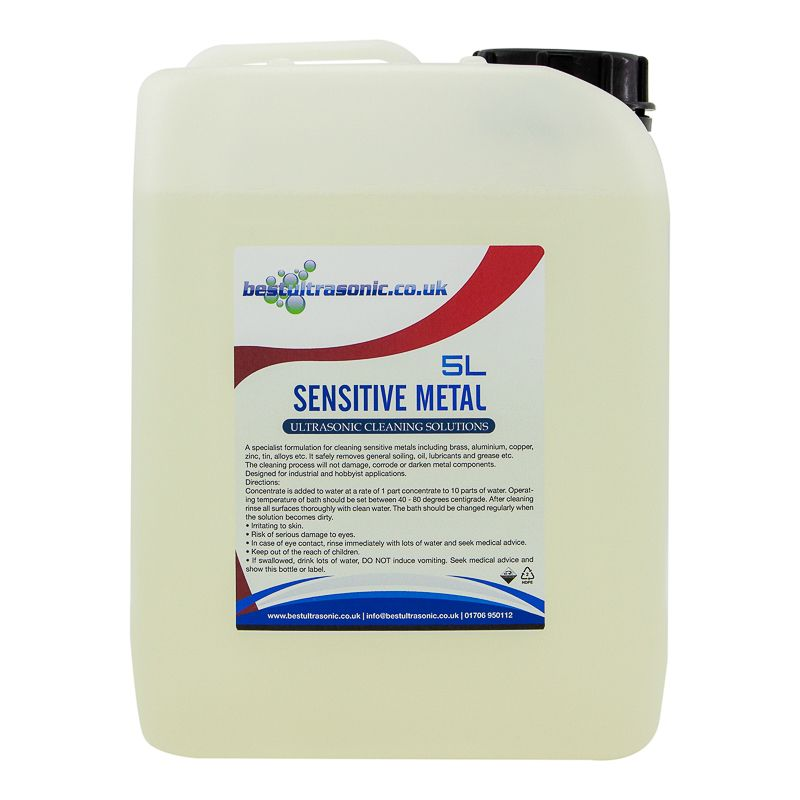Sensitive Metal Ultrasonic Cleaning Solution (5 Litre)