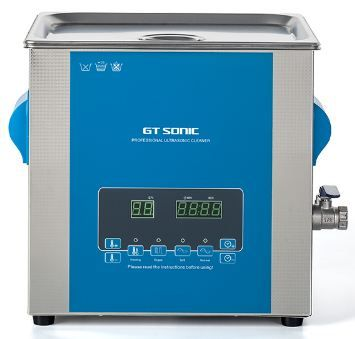 Ultrasonic Cleaner / bath digital with degassing (13 litre)
