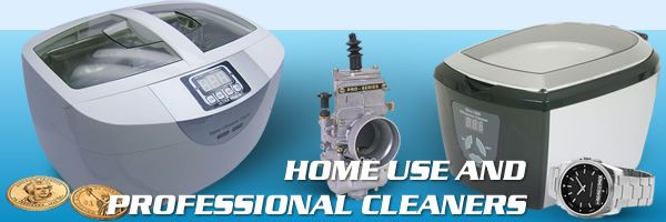 best ultrasonic cleaners header image collage of 3 machines