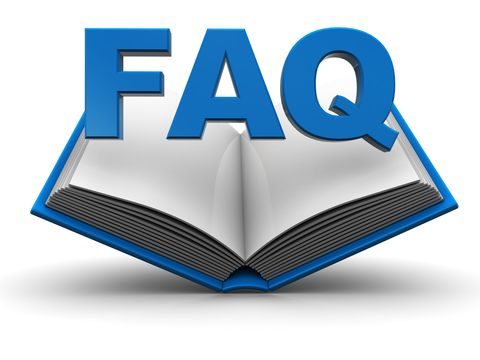 image of an open book with the letters FAQ overlaid. Best Ultrasonic Cleaners faq page