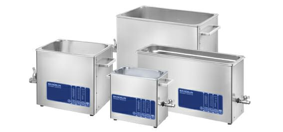 Bandolin Sonorex ultrasonic cleaner group photo