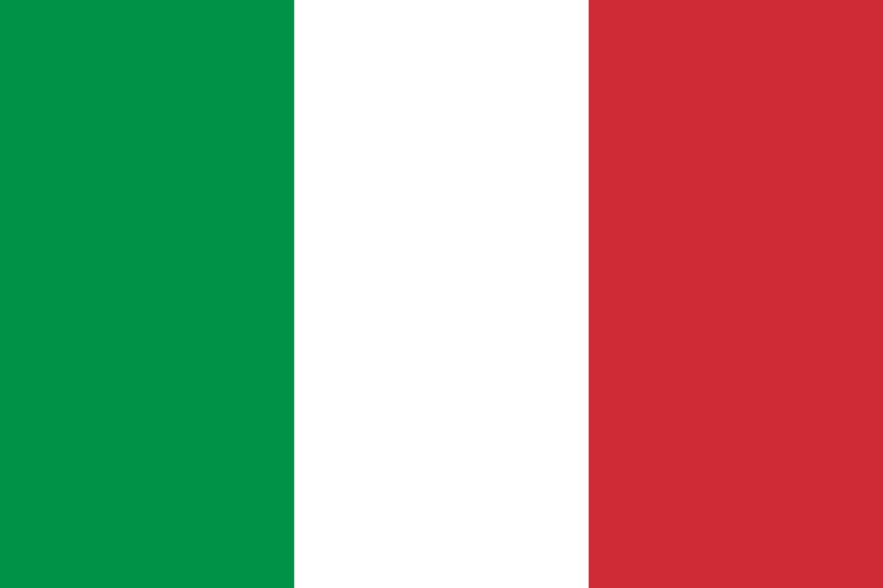 italain flag - made in germany