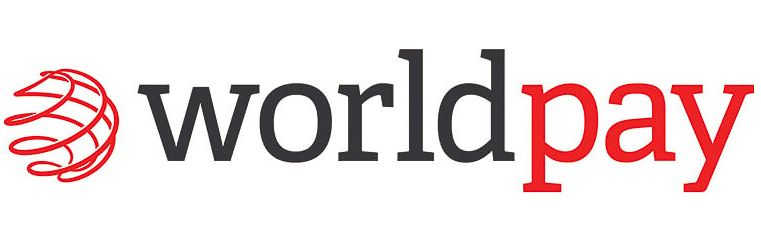 Worldpay logo for card payment processing