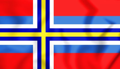 image of the flag of scandinavia